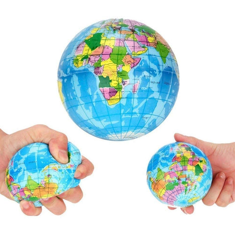 Earth Squeeze Stress Balls - oddgifts.com