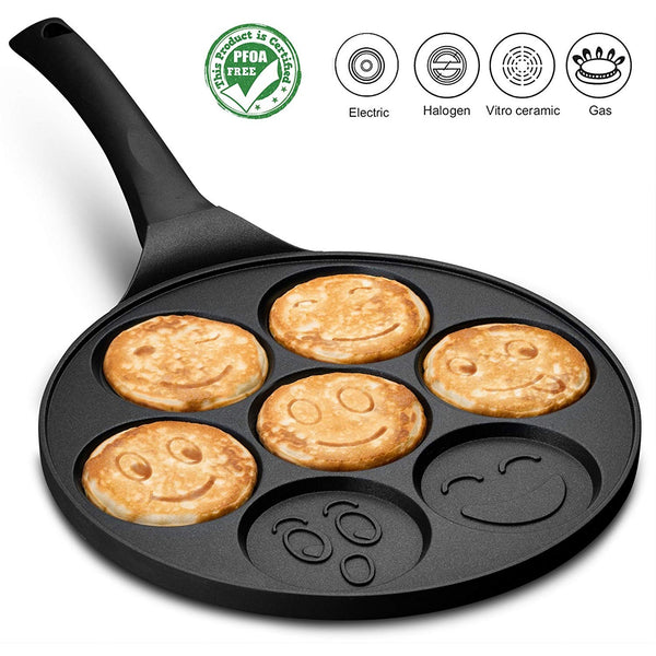 Emoji Smiley Face Pancake Pan - oddgifts.com