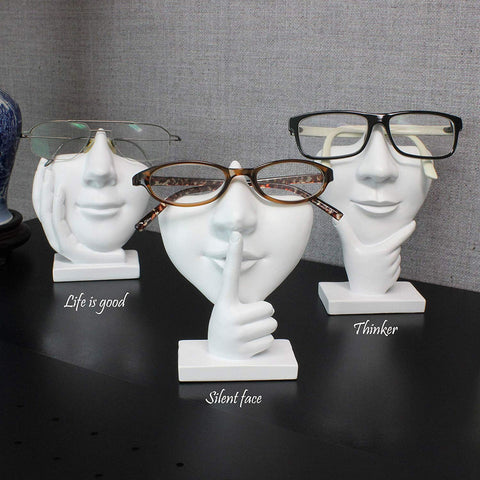 Eyeglass Face Holder Stands - oddgifts.com