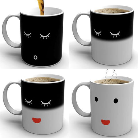 Face Changing Coffee Mug - oddgifts.com