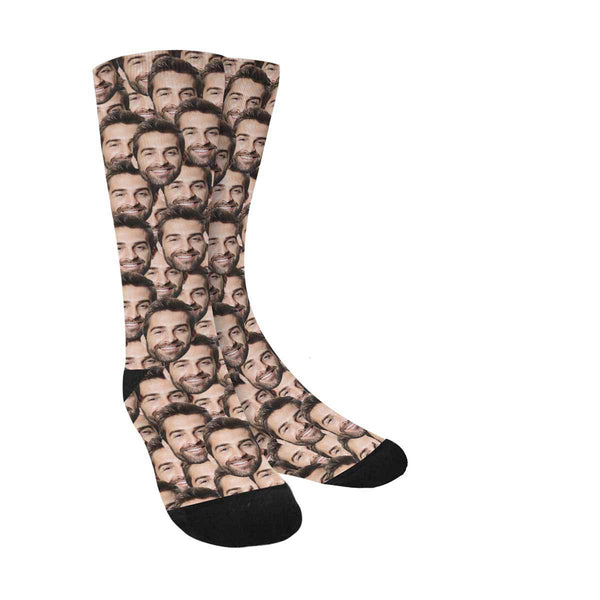 Face on Socks - oddgifts.com