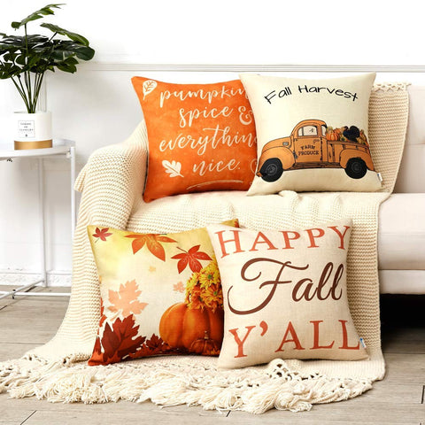 Fall Themed Pillows - oddgifts.com
