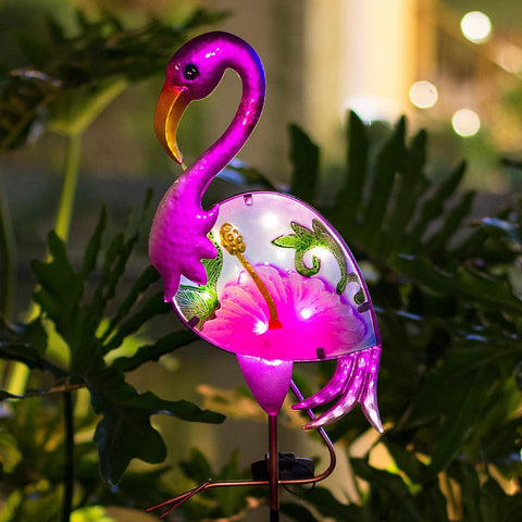 Flamingo Solar Garden Light - oddgifts.com