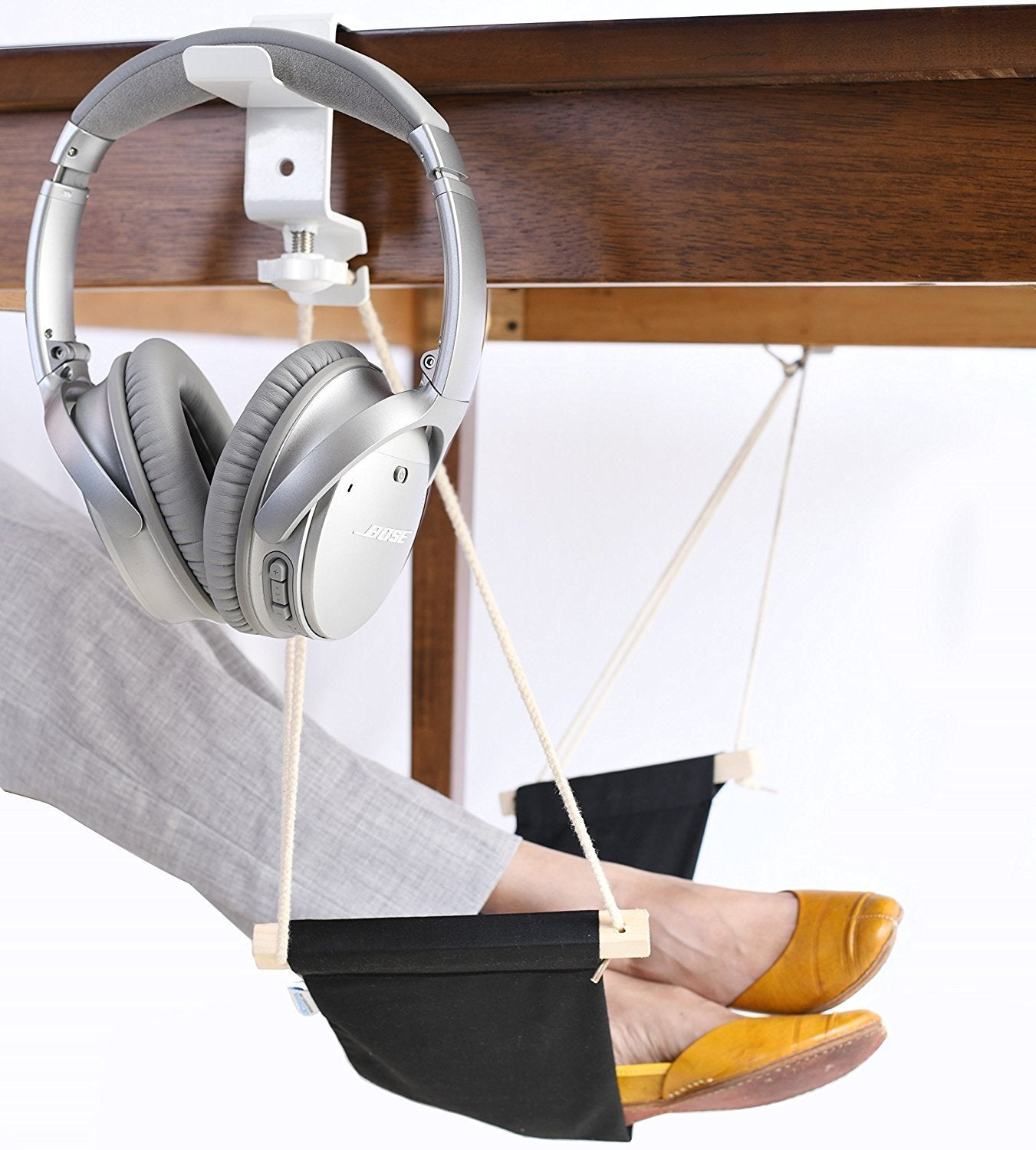 Foot Hammock For Desk - oddgifts.com