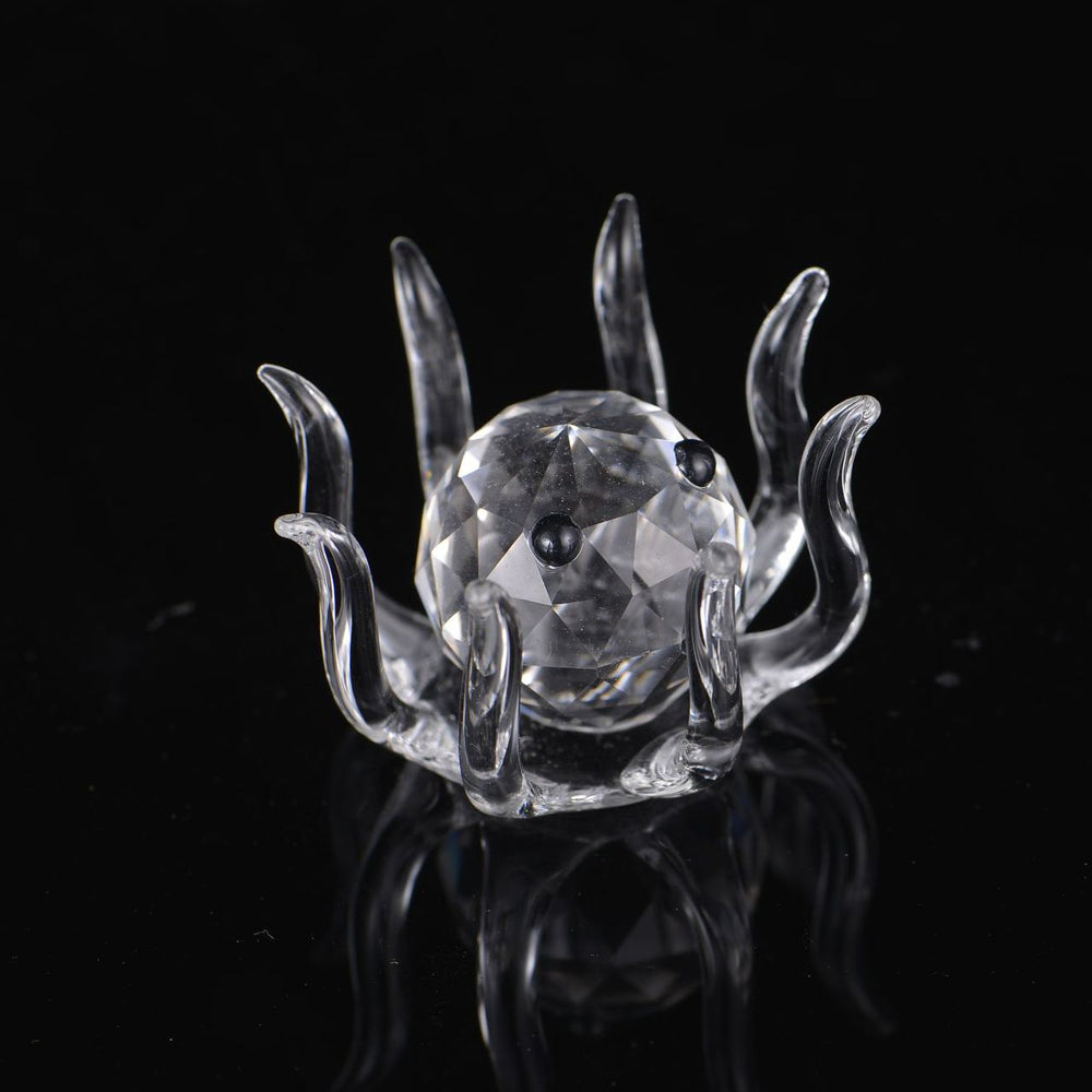Glass Crystal Mini Octopus Figurine - oddgifts.com