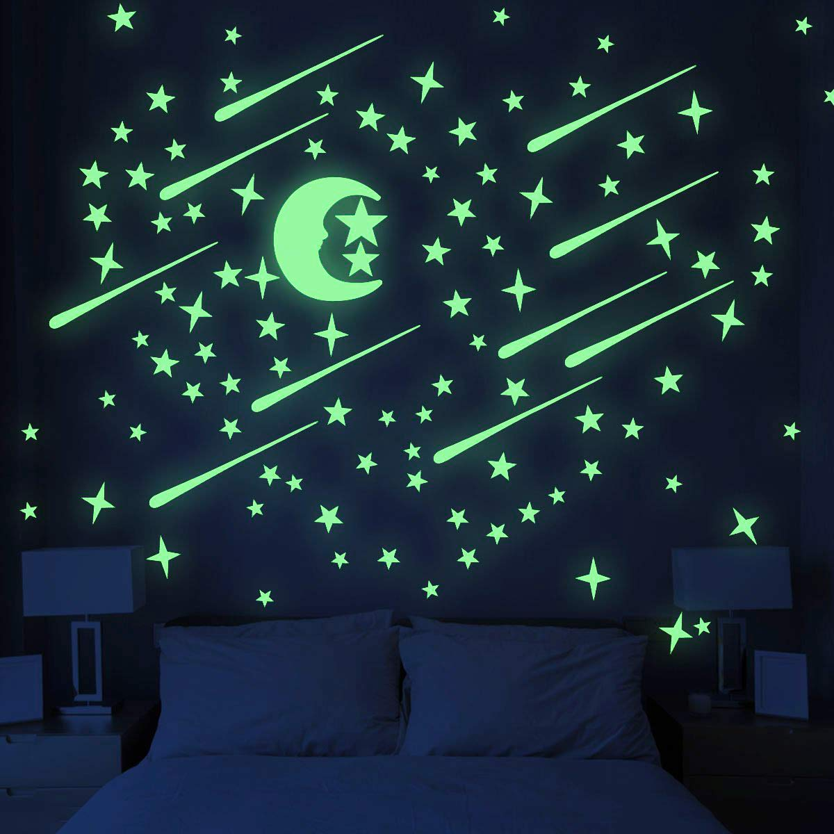 Glow In The Dark Stars and Moon - oddgifts.com