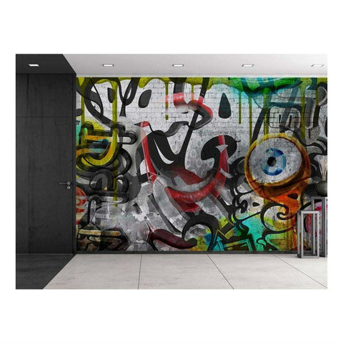 Graffiti Wall Mural - oddgifts.com