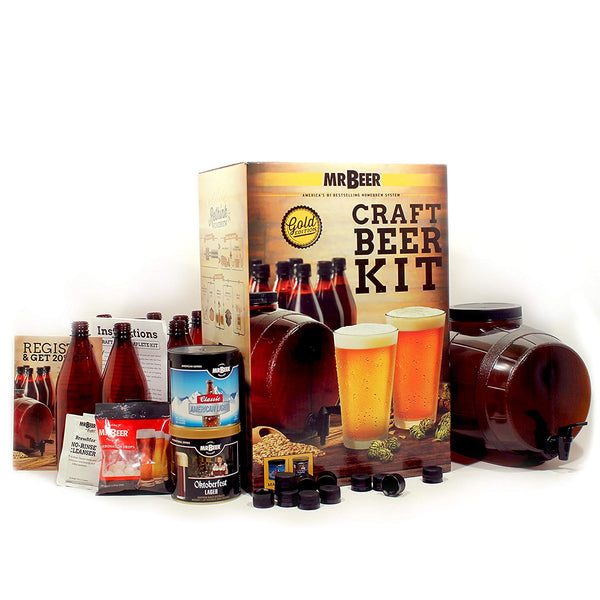 Home Brewing Beer Kit - OddGifts.com