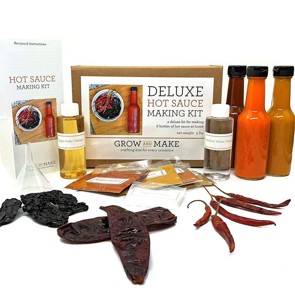 Hot Sauce Making Kit - OddGifts.com
