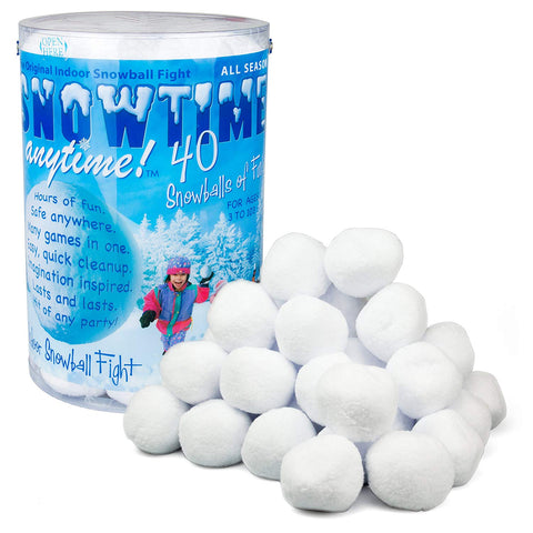 Indoor Snowball Fight - OddGifts.com