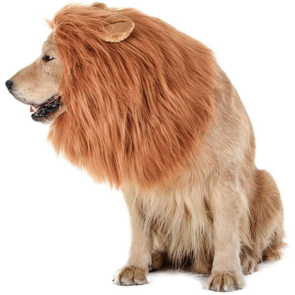 Lion Mane For Dogs Costume - oddgifts.com