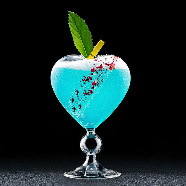 Love Heart Shaped Cocktail Glass - oddgifts.com