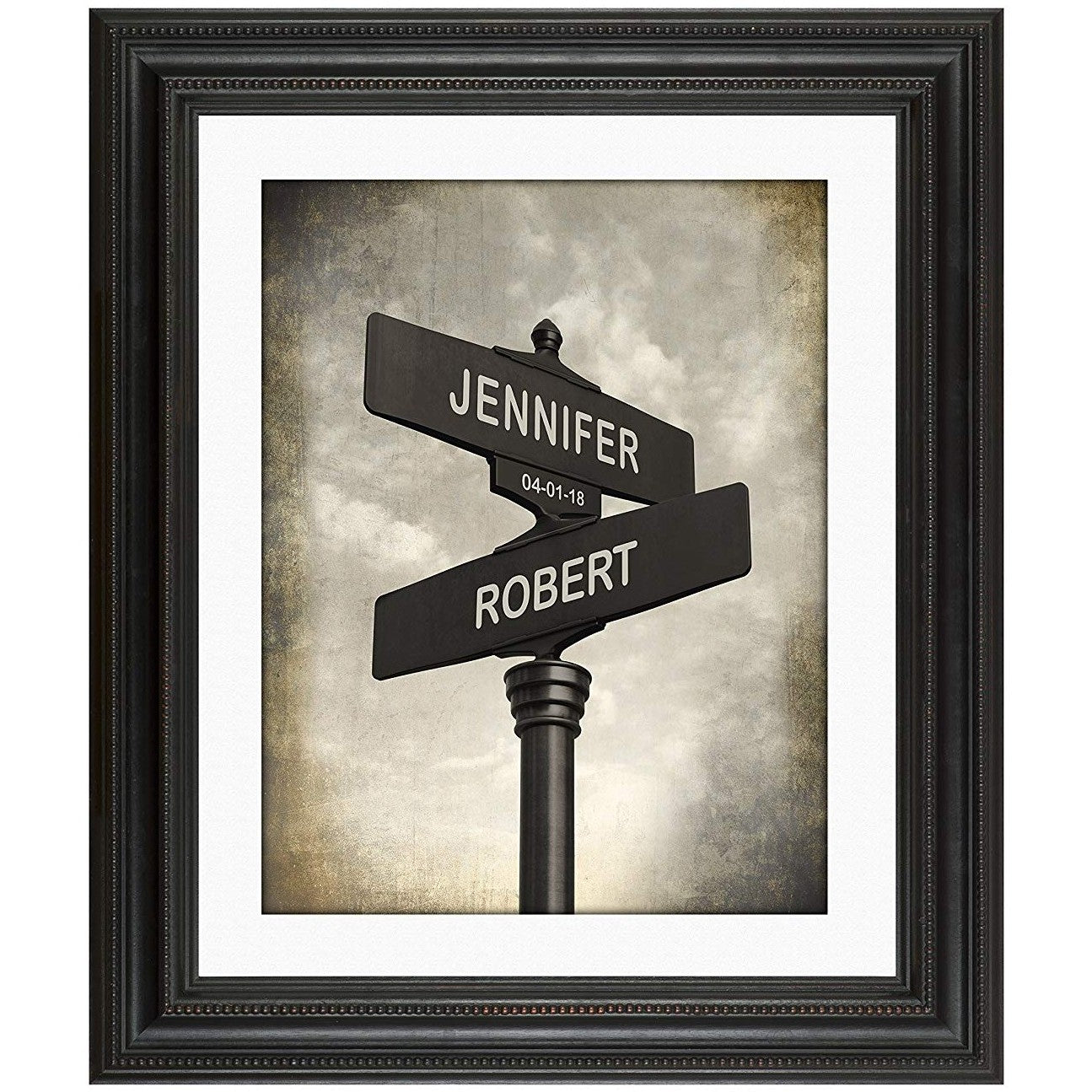 Lovers Crossroads Personlized Print - oddgifts.com