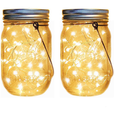 Mason Jar With Fairy Lights - oddgifts.com
