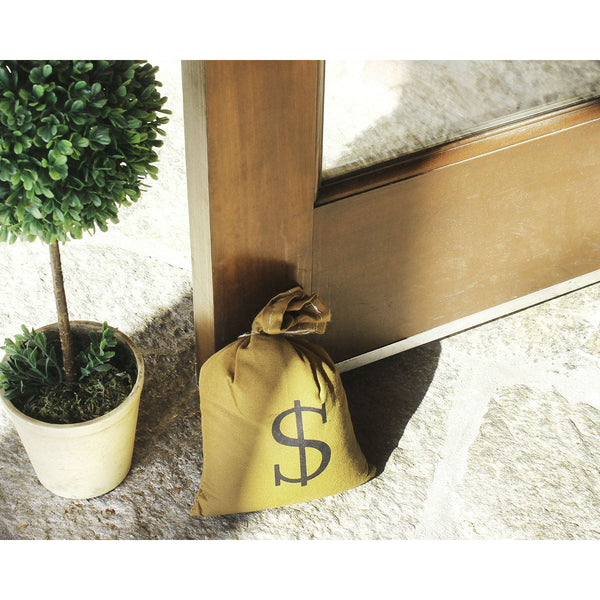 Money Bag Door Stopper - oddgifts.com