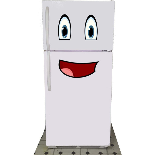 Mr Fridge Smiley Face Magnet - oddgifts.com