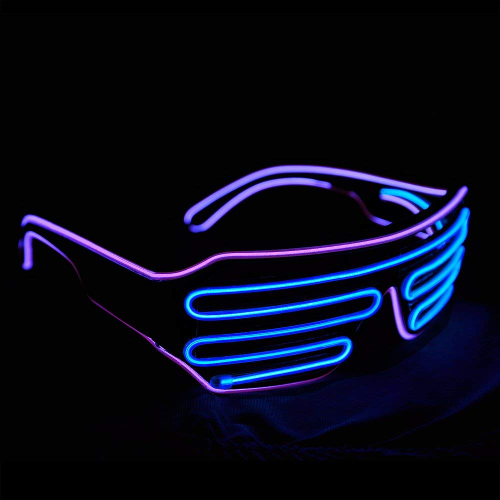 Neon 80's LED Sunglasses - oddgifts.com