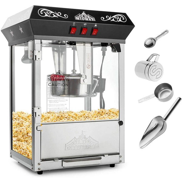 Old School Popcorn Machine Maker - oddgifts.com