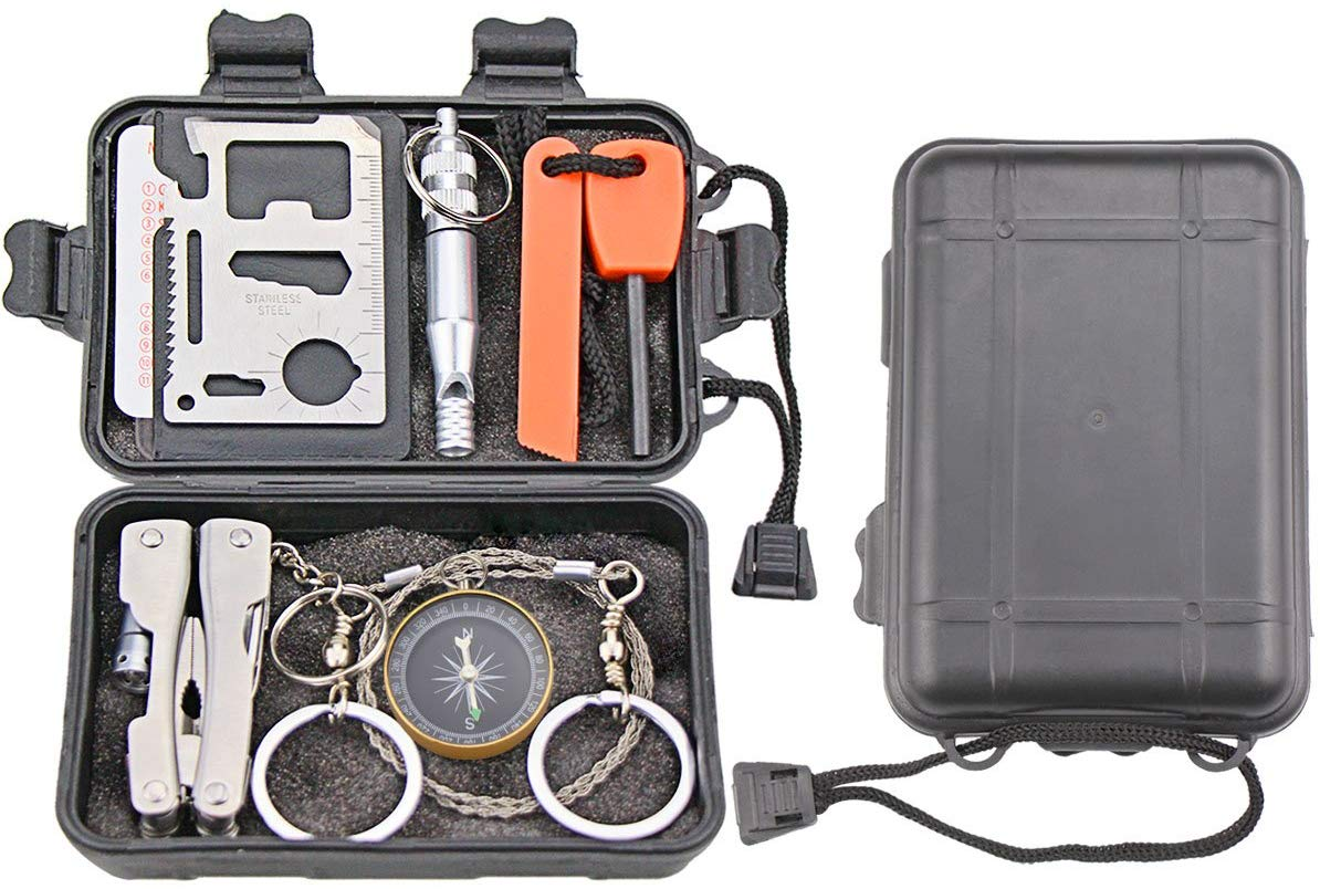 Outdoor Survival Kit - oddgifts.com