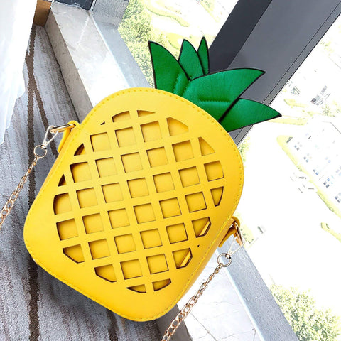 Pineapple Shoulder Bag - oddgifts.com