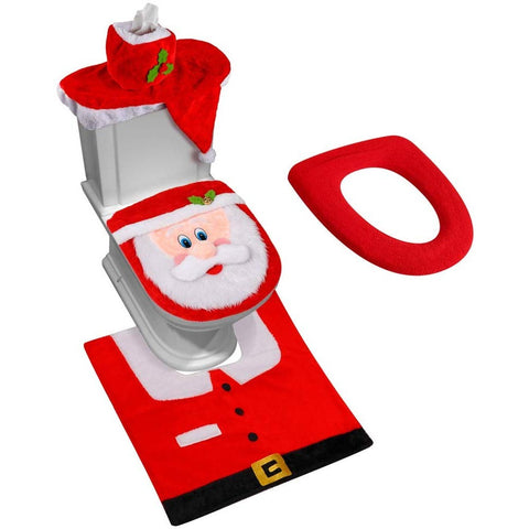 Santa Toilet Seat Cover - oddgifts.com