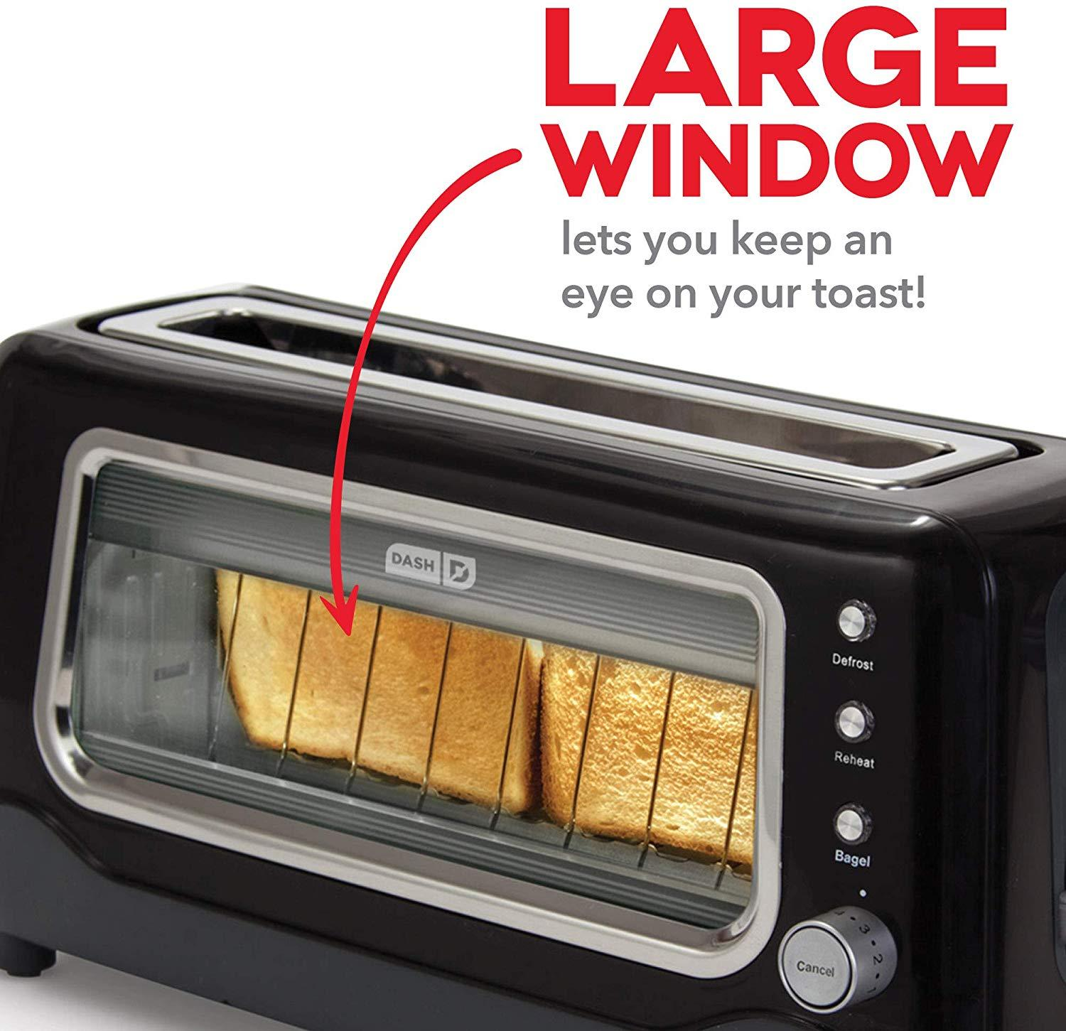 See Through Glass Toaster - oddgifts.com