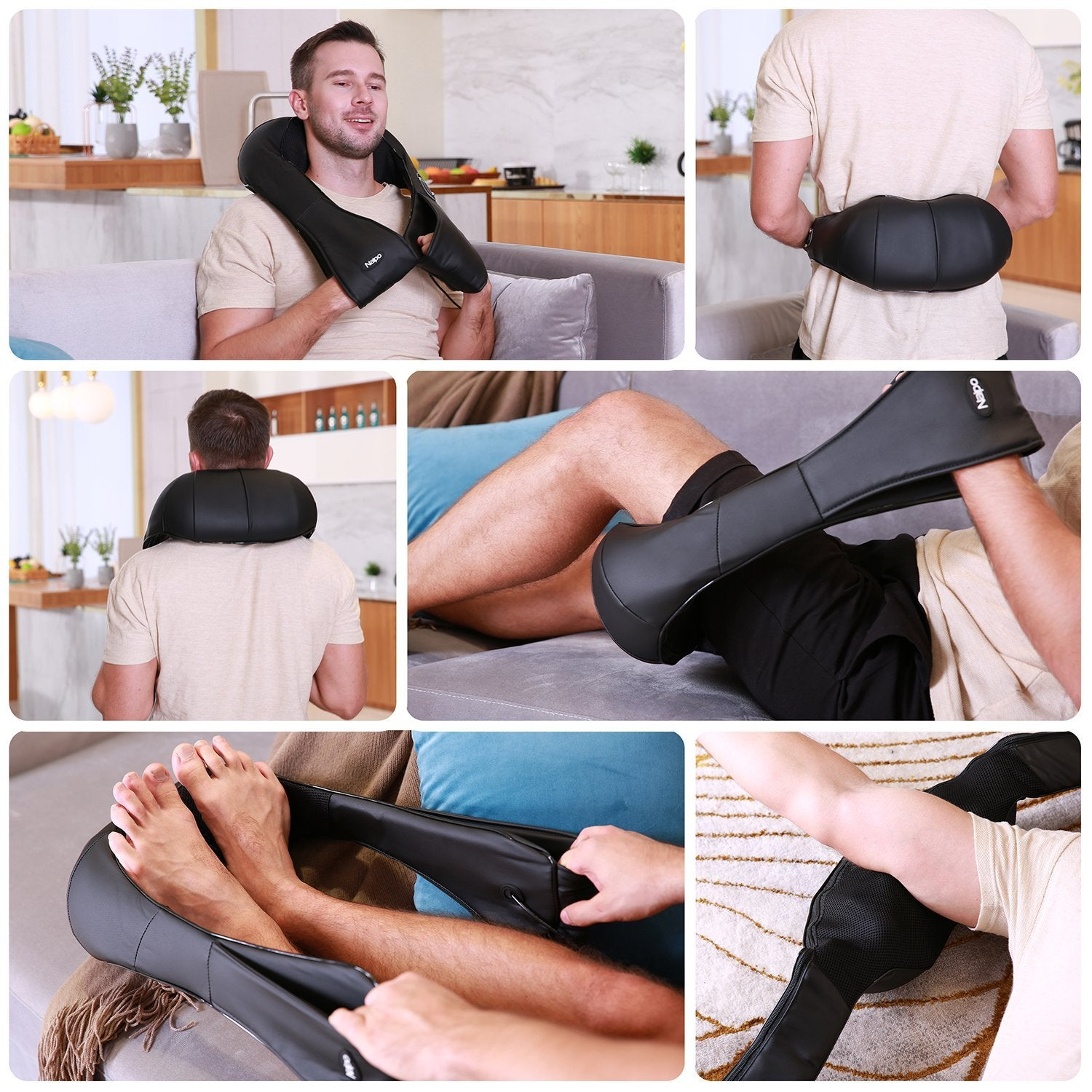 Shiatsu Multiple Region Massager