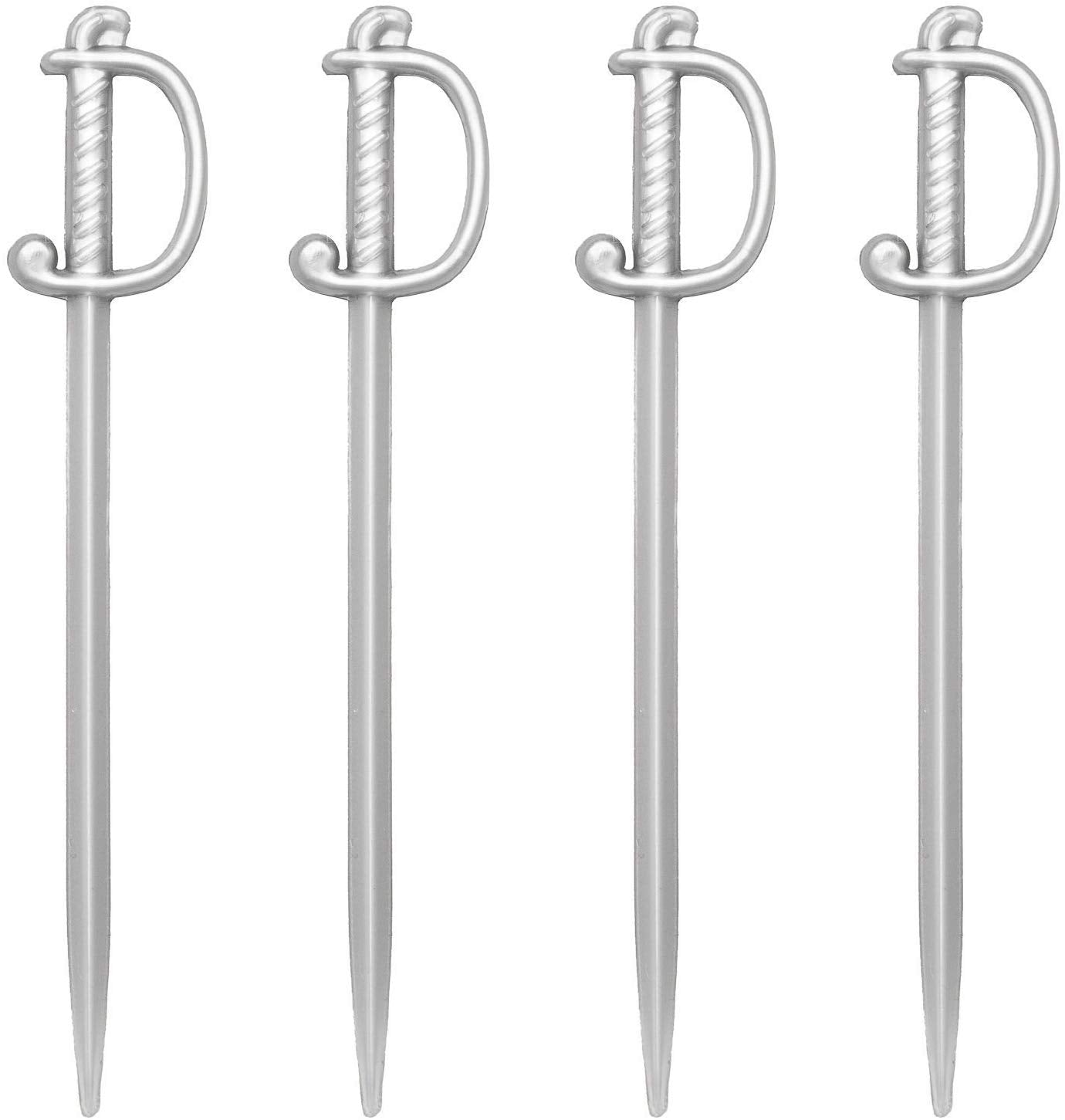 Silver Sword Cocktail and Food Picks - oddgifts.com