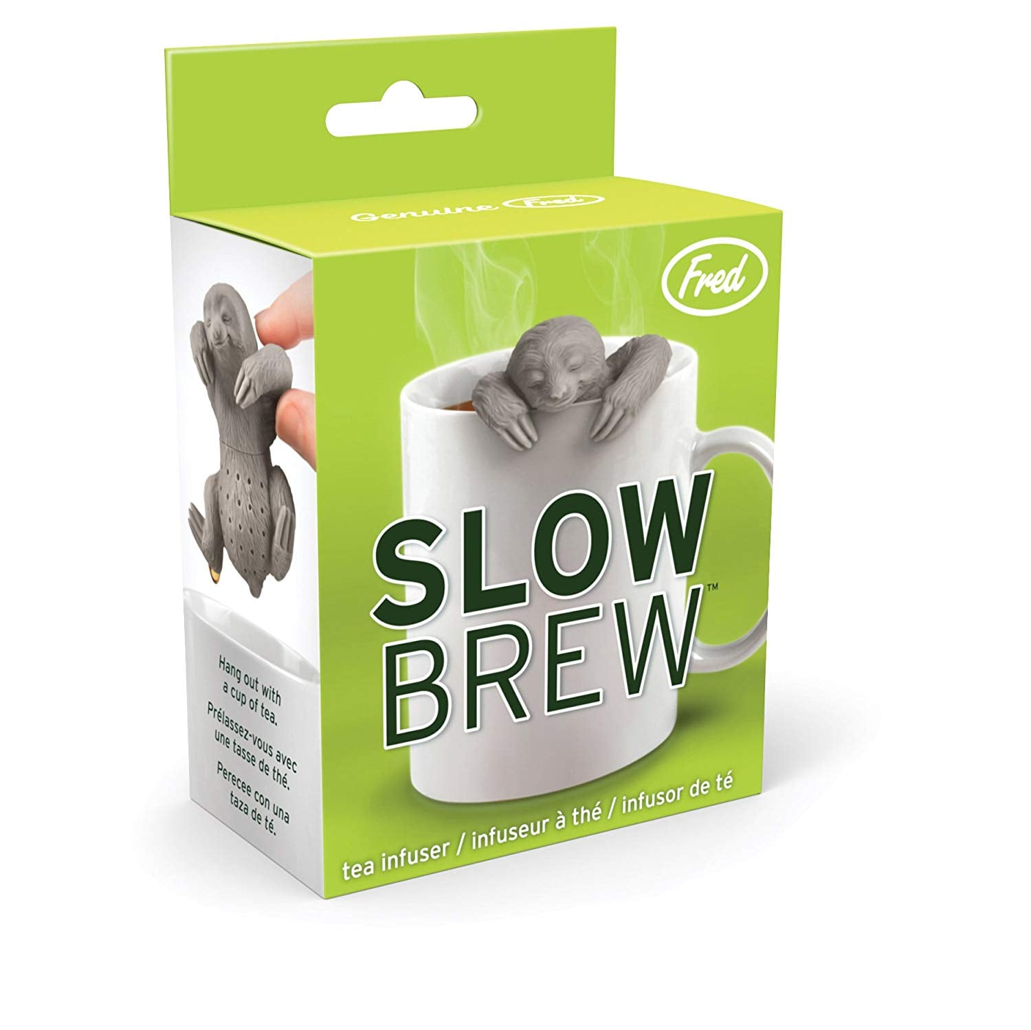 Slow Sloth Tea Infuser - oddgifts.com