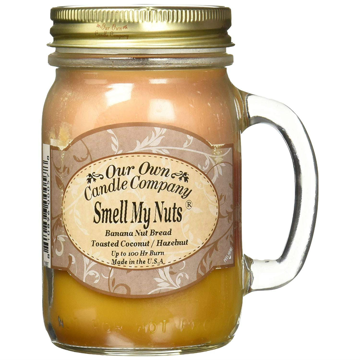 Smell My Nuts Scented Candle - oddgifts.com