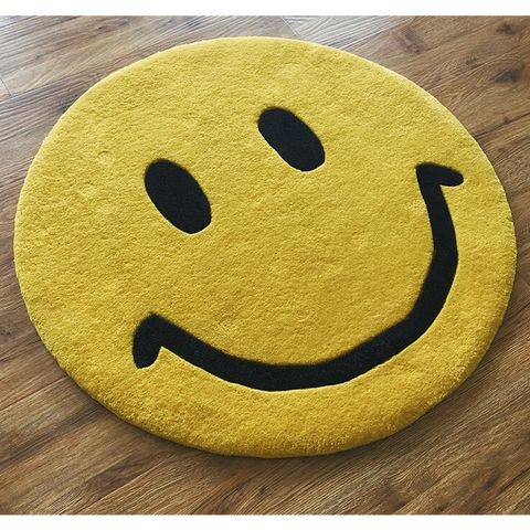 Smiley Face Emoji Mat - oddgifts.com