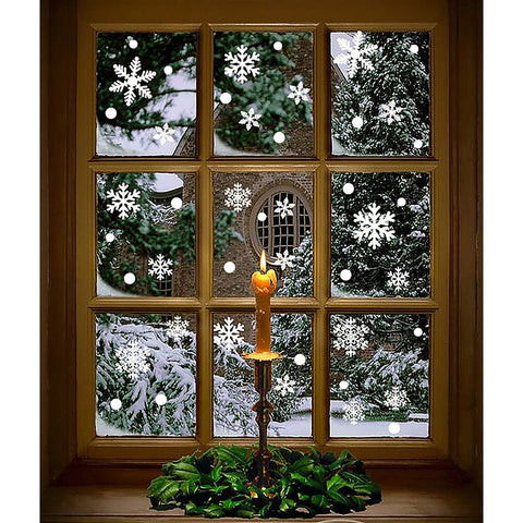Snowflake Window Decals - oddgifts.com