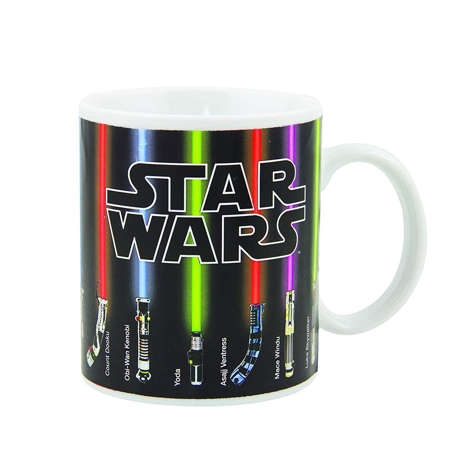 Star Wars Lightsaber Heat Changing Mug - oddgifts.com