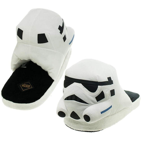 Star Wars Stormtrooper Slippers - oddgifts.com