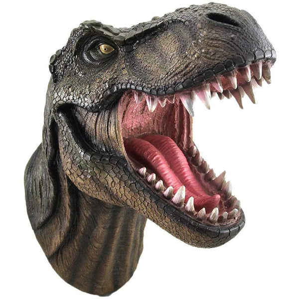 T Rex Wall Mounted Head Statue - oddgifts.com