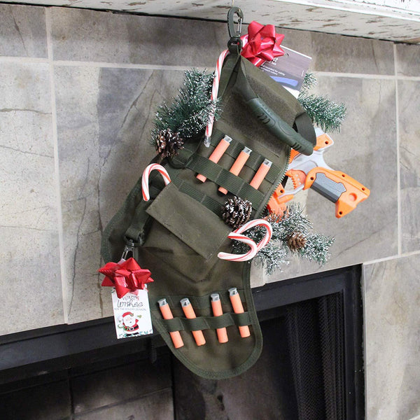 Tactical Xmas Stocking - OddGifts.com