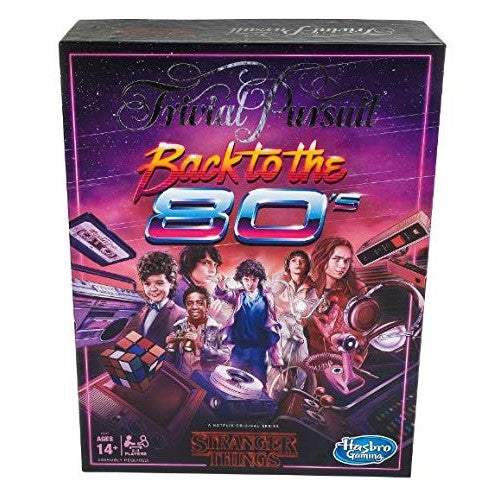 Trivial Pursuit Stranger Things Back to The 80s Edition - oddgifts.com