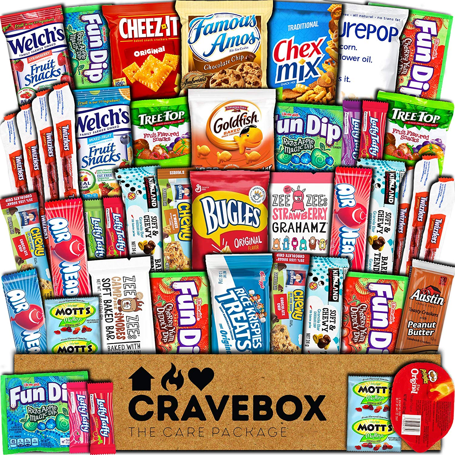 Ultimate Variety Food Gift Box - oddgifts.com