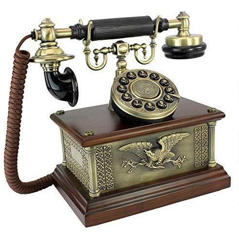 Vintage Antique American Eagle Phone - oddgifts.com