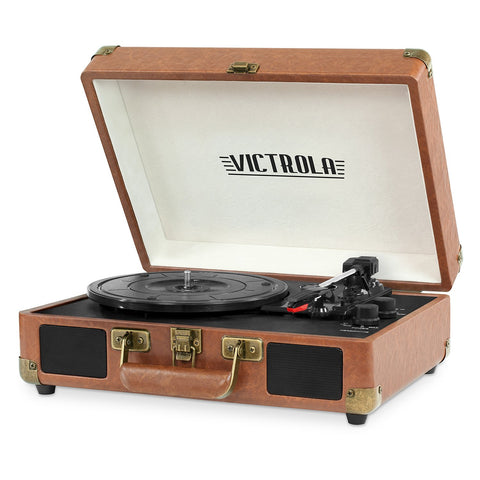 Vintage Bluetooth Suitcase Turntable - oddgifts.com