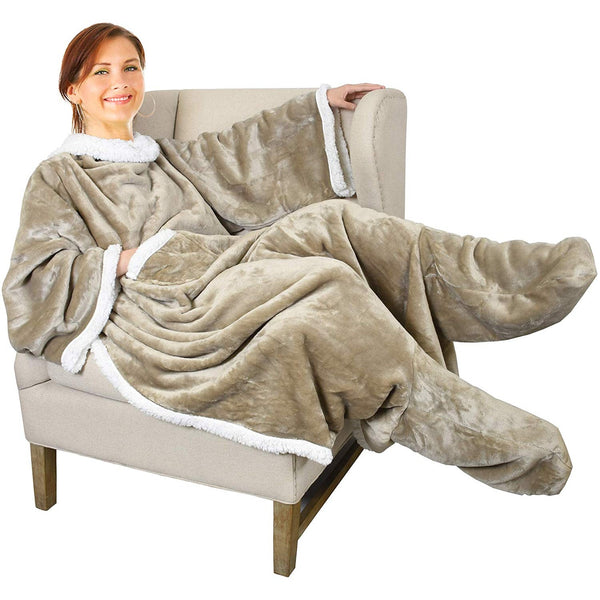 Wearable Sleeved Blanket - oddgifts.com