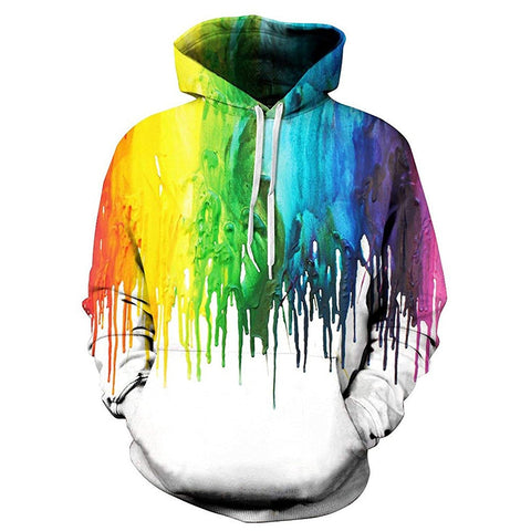 Wet Paint Graphic Hoodie - oddgifts.com