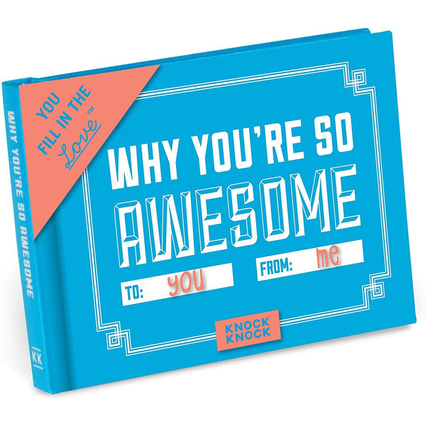 Why You're So Awesome Love Book - oddgifts.com