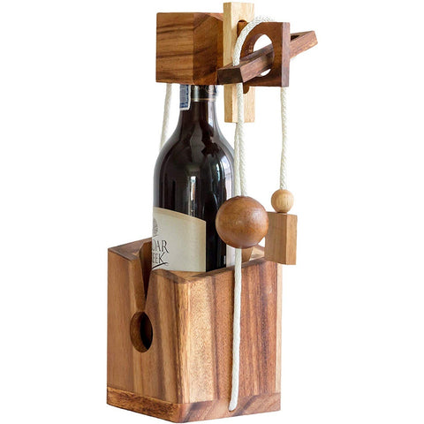 Wine Puzzle Box - oddgifts.com