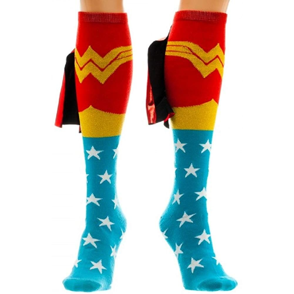 Wonder Woman Knee High Socks - oddgifts.com