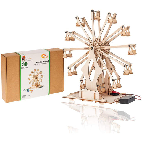 Wooden Ferris Wheel Building Kit - oddgifts.com