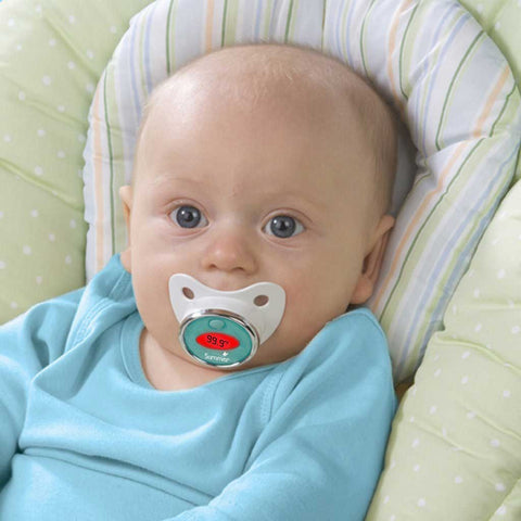 Fever Monitoring Pacifier - OddGifts.com
