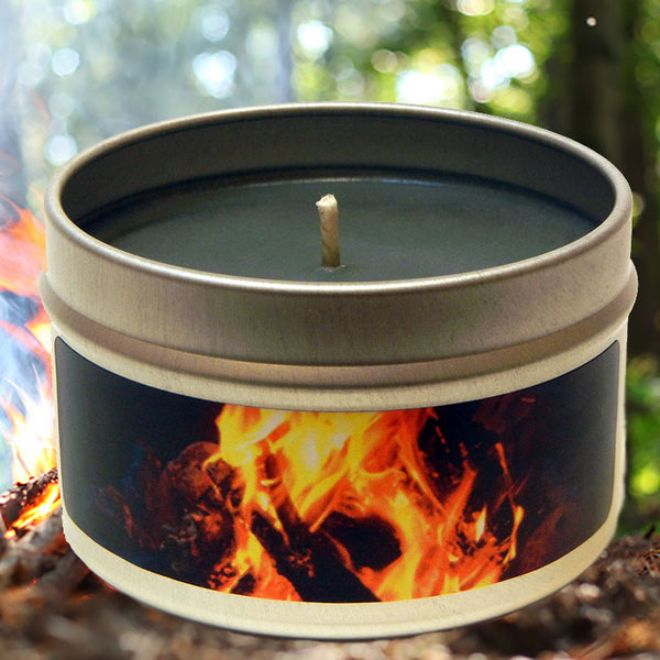 Campfire Smoke Scented Candle - OddGifts.com