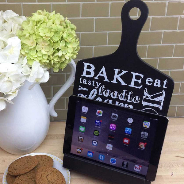 iPad Stand Shaped Like A Cutting Board