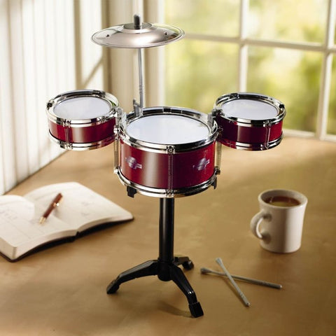 Desktop Drum Set - OddGifts.com